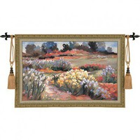 Pure Country Weavers Botanica Tapestry - 2759-WH - All Wall Art - Wall Art &amp; Coverings - Decor