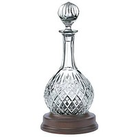 IL GRANDE GATSBY: decanter in cristallo lavorato a mano + mogano LONDON - 75 cl