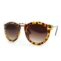 PenBang  Leopard Print Retro Summer Beach Sunglasses
