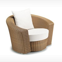 DEDON: Hemisphere - Lounge chair - natural