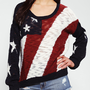 Urban Outfitters - Coincidence &amp; Chance Americana Pullover Sweater