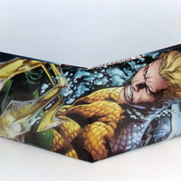 Comic Book Wallet// Aquaman