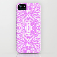 Radate (Lilac) iPhone & iPod Case by Jacqueline Maldonado