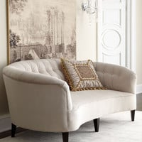 Old Hickory Tannery Anastacia Pearl Sofa