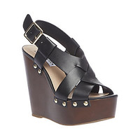 Steve Madden - WHISTLE BLACK LEATHER