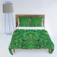 DENY Designs Home Accessories | Aimee St Hill Paisley Green Duvet Cover