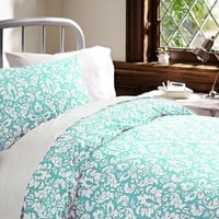 Damask Bedding Bundle, Pool