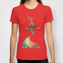 Rainbow {Weeeee} T-shirt by Carina Povarchik
