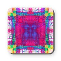 Carnival Daze Square Coaster&gt; Coasters &amp; Tiles&gt; Janet Antepara Designs
