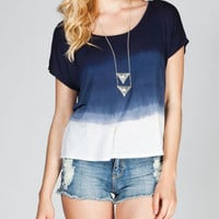 EYESHADOW Tie Dye Womens Tee 216171210 | Knit Tops & Tees | Tillys.com