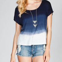 EYESHADOW Tie Dye Womens Tee 216171210 | Knit Tops &amp; Tees | Tillys.com
