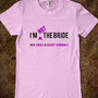 I&#x27;m NOT the Bride (Purple)