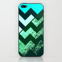rational meets irrational (in mint flavor) iPhone & iPod Skin by Marianna Tankelevich