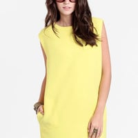 Yellow Submarine Shift Dress By Line &amp; Dot - $98.00 : ThreadSence, Women&#x27;s Indie &amp; Bohemian Clothing, Dresses, &amp; Accessories