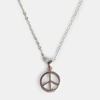 Spread the Peace Necklace - $12.00 : ThreadSence, Women&#x27;s Indie &amp; Bohemian Clothing, Dresses, &amp; Accessories