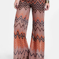 Pastime Chevron Bell Bottoms - $52.00 : ThreadSence, Women&#x27;s Indie &amp; Bohemian Clothing, Dresses, &amp; Accessories