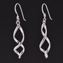 Sterling Infinity Earrings -- Mexicali Blues