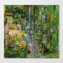 Giverny Stretched Canvas by agnes Trachet