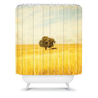 DENY Designs Home Accessories | Barbara Sherman Solitary Shower Curtain