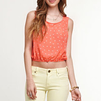 Kirra Cropped Slit Back Tank Shirt at PacSun.com