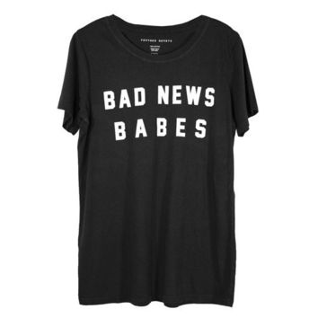 Bad News Babes Relaxed Fit Tee
