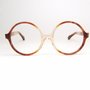 Vintage Round Glasses Eyeglasses or Sunglasses Frame NOS