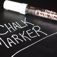 CHALK MARKER- 6mm tip in WHITE