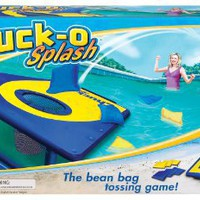 POOF-Slinky 0X0873 Ideal Chuck-O Splash Classic Bean Bag Toss Game with Floating Waterproof Gameboard Platform