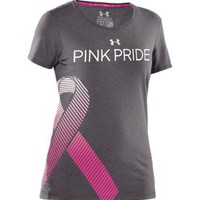 Under Armour Women's Power in Pink Ribbon T-Shirt - Dick's Sporting Goods