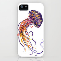 Jellyfish iPhone & iPod Case by Samantha