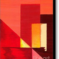 Phoenix Sunset Stretched Canvas Print / Canvas Art By Courtney Bailey