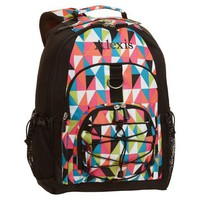 Gear-Up Black Kaleidoscope Backpack
