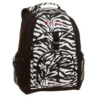Gear-Up Black Zebra Backpack
