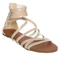 Patent Leather Gladiator Sandal | Shop Summer Roadtrip at Wet Seal