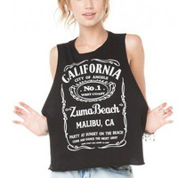 Brandy ♥ Melville |  Sadie Zuma Beach Tank - Clothing