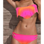 Romantic moments — 3421Gradient fringed bikini