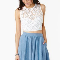 New Romantics Crop Top