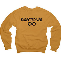 One Direction &quot;Directioner&quot; Sweatshirt - 1D Infinite Sweater - Item: 011