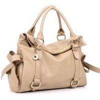 Pure and fresh and lovely bowknot bag