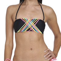 String Colorblock Bandeau | Shop Junior Clothing at Wet Seal
