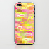 Pink Splash iPhone & iPod Skin by Lisa Argyropoulos