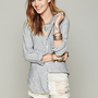 Free People Stripe Button Down Tunic