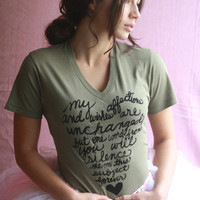 Mr Darcy&#x27;s 2nd Proposal Organic TShirt Unisex in by neenacreates