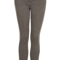 MOTO Pale Grey Leigh Jeans - Jeans  - Clothing