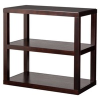 Threshold Console Bookcase - Espresso