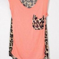 Fresh Leopard Pocket Shirt