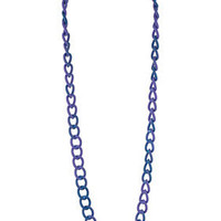 Matte Effect Chain Necklace