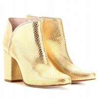 mytheresa.com -  Opening Ceremony - PENNY LEATHER ANKLE BOOTS  - Luxury Fashion for Women / Designer clothing, shoes, bags