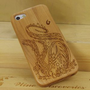 Amazon.com: Octopus Natural Handmade Cherry Wood Case Cover Protective Shell for Iphone 5: Cell Phones &amp; Accessories
