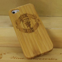 Amazon.com: Manchester United Logo Natural Handmade Bamboo Case Cover Protective Shell for Iphone 5: Cell Phones &amp; Accessories